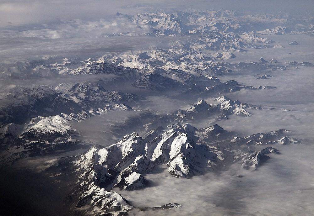 Berge & Wolken