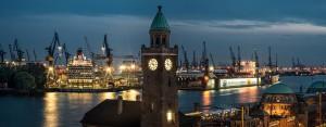 Landungsbrücken Hamburg Dock 17