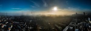 Hafen im Nebel