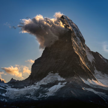 Besuch am Matterhorn