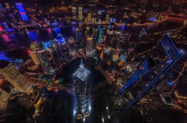 Shanghai City Lights