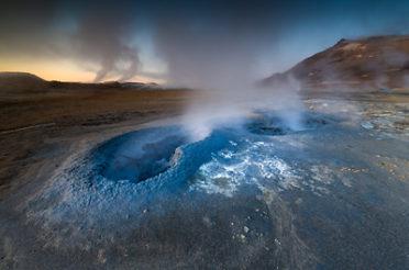 Hochtemperaturgebiete in Island