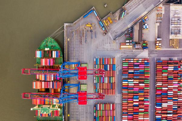 Luftaufnahme, Drohne, Drohnenaufnahme, Hafen, Hamburg