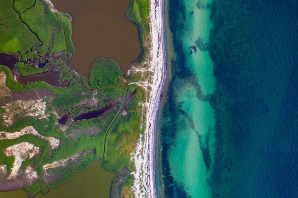 Luftaufnahme, Drohne, Ostsee