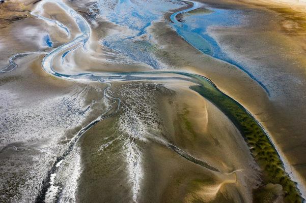 Luftaufnahme, Drohne, Nordsee