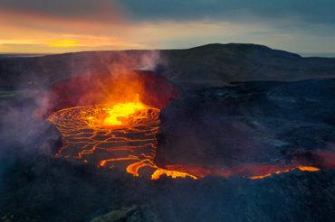 Am Vulkan Fagradalsfjall