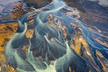 Die bunten Flüsse Islands